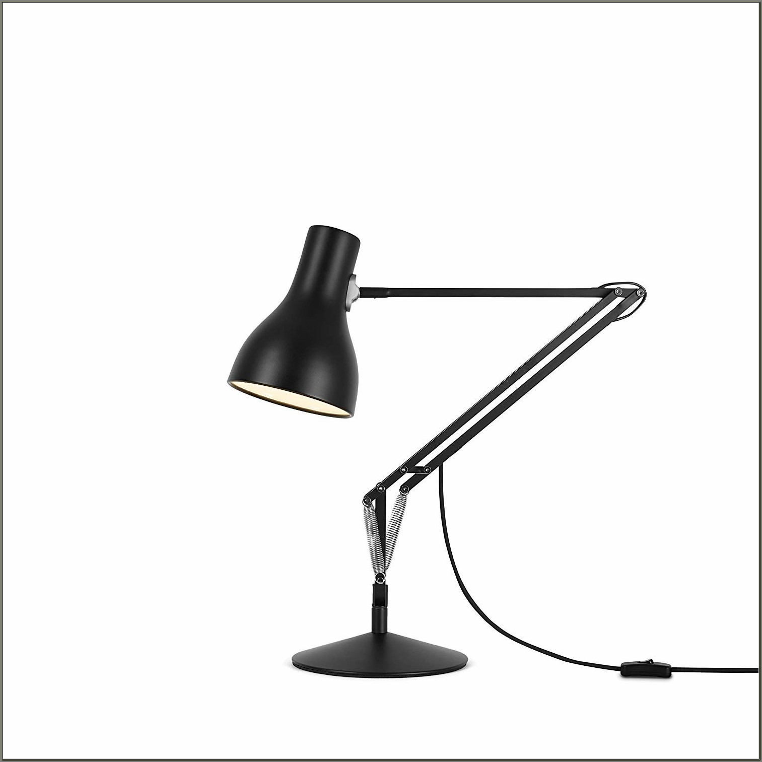 Anglepoise Type 75 Desk Lamp Black
