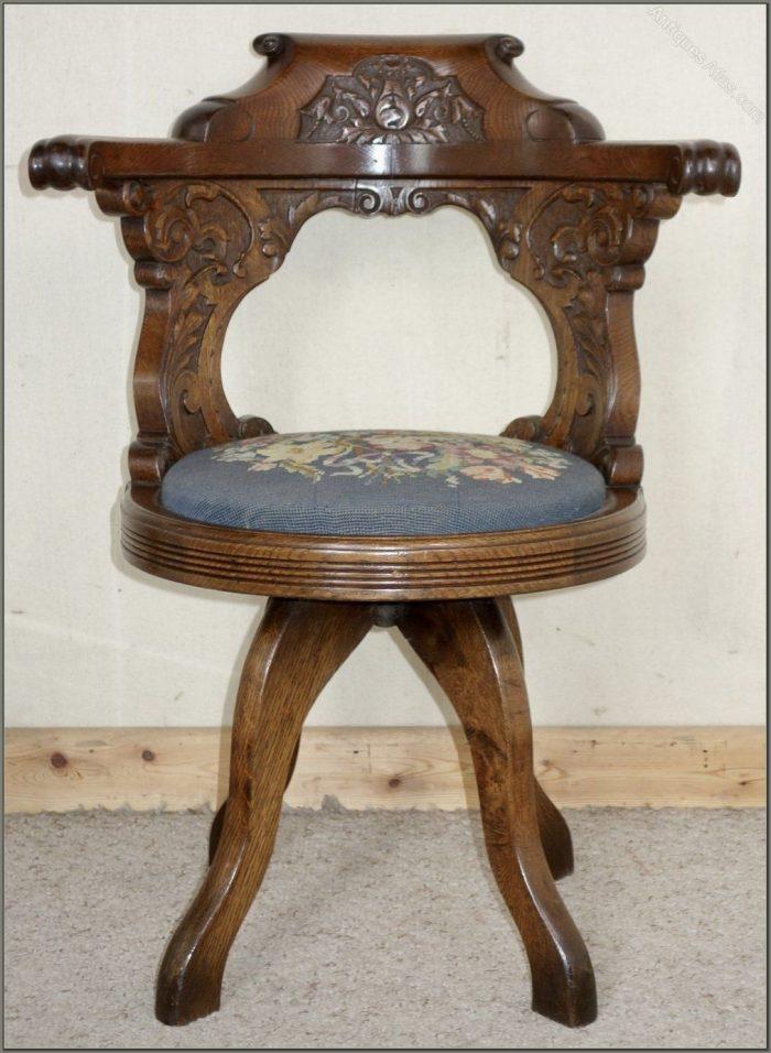 Antique Desk Chairs Swivel
