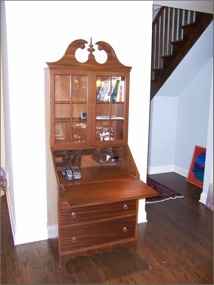 Antique Secretary Desk With Hutch For Sale