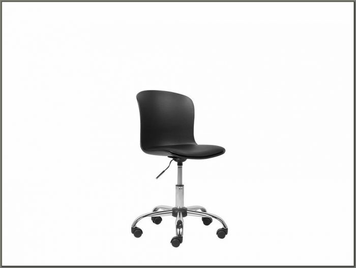 Armless Swivel Desk Chair