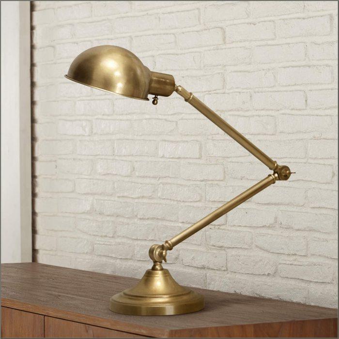 Brass Pharmacy Desk Lamp