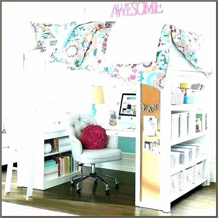 Bunk Bed Desk Combo For Girls