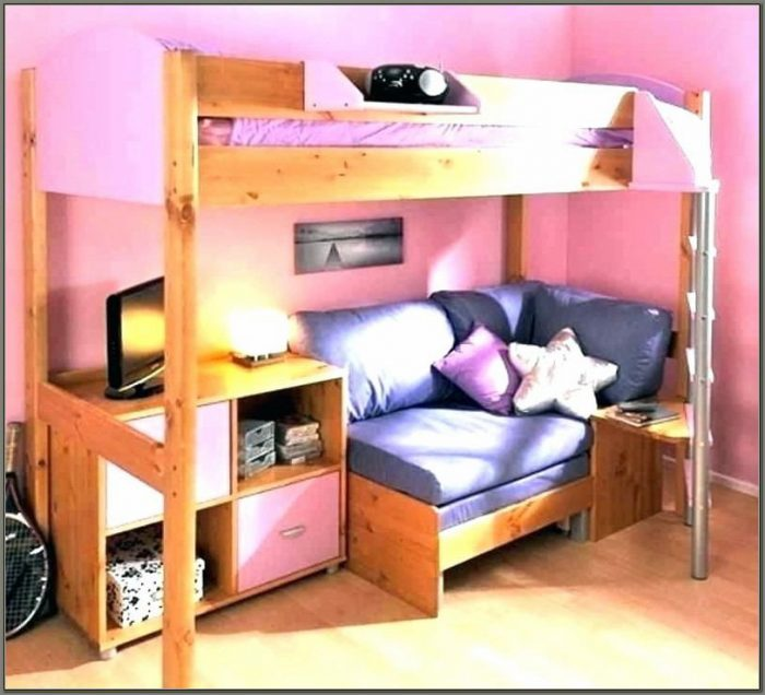 Bunk Bed With Desk And Sofa Argos