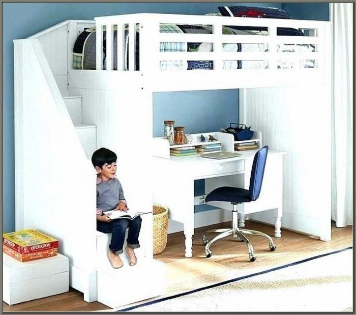 Bunk Bed With Desks