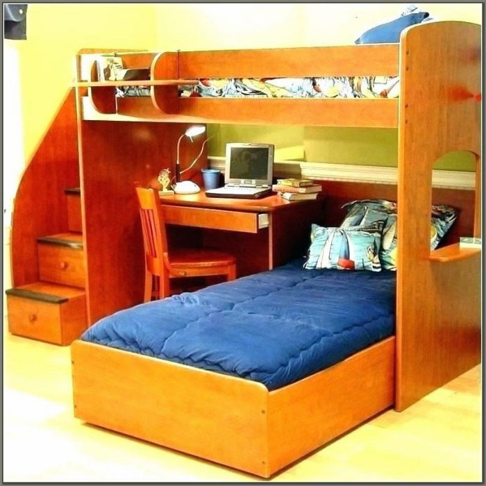 Bunk Beds And Desk