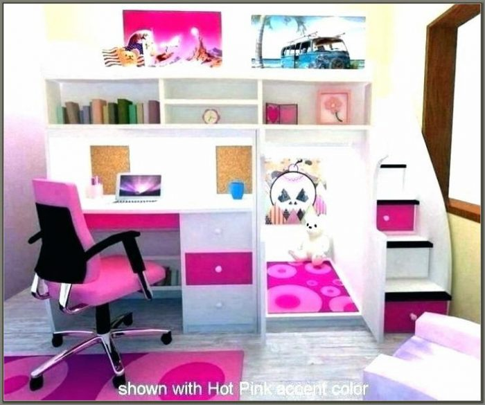 Bunk Beds With A Desk Under It