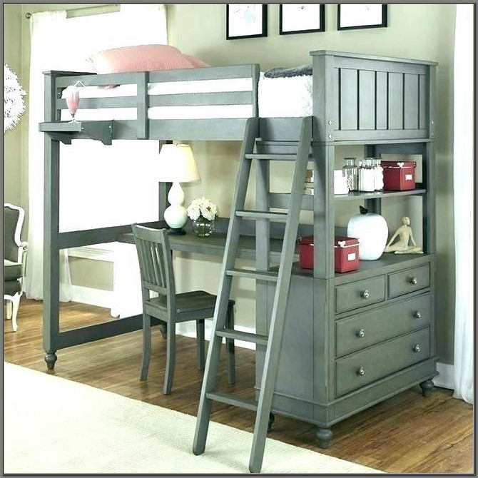Bunk Beds With A Desk