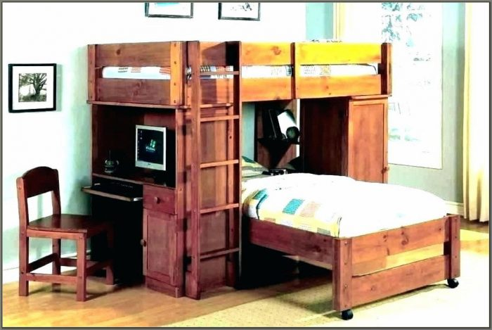 Bunk Beds With Desk For Teenage Girls
