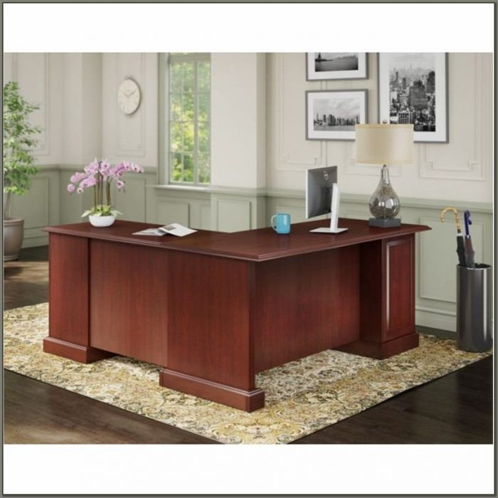 Bush Bennington L Shaped Desk