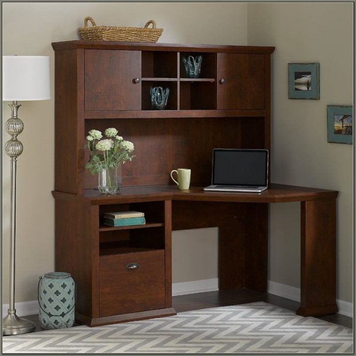 Bush Furniture Corner Desk With Hutch