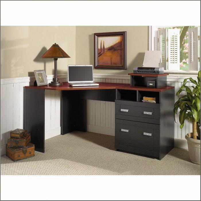 Bush Furniture Wheaton Reversible Corner Desk