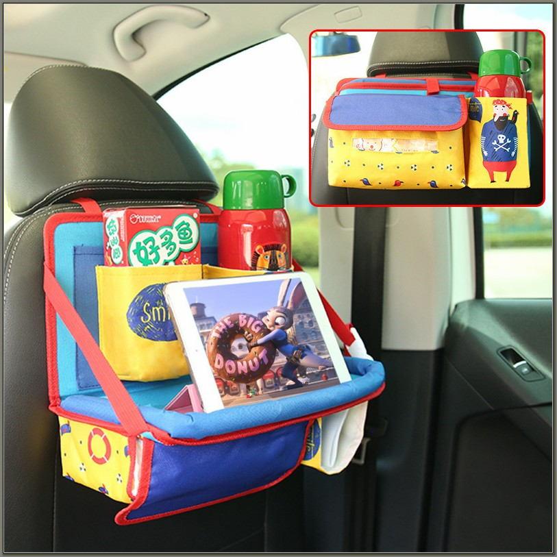 Car Seat Desk Organizer