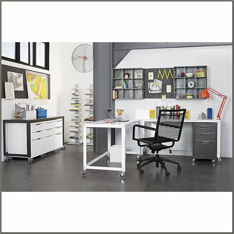 Cb2 Go Cart Desk