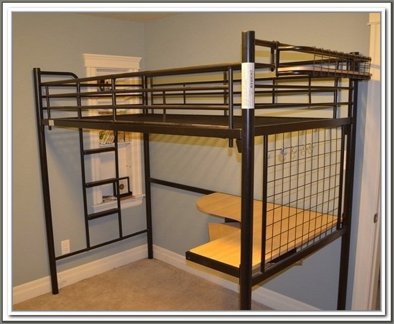 Charleston Loft Bed With Desk Assembly Instructions
