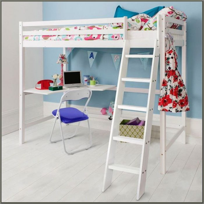 Childrens Beds With Desks Underneath