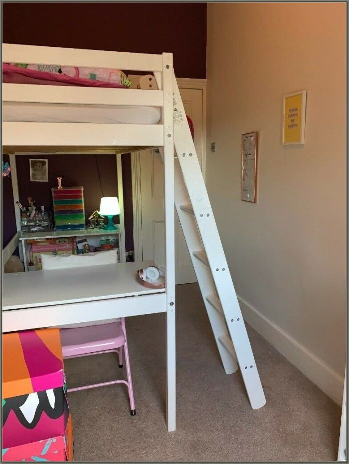Childs Bunk Bed And Desk