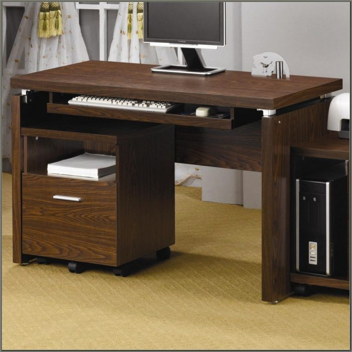 Computer Desks With Keyboard Tray