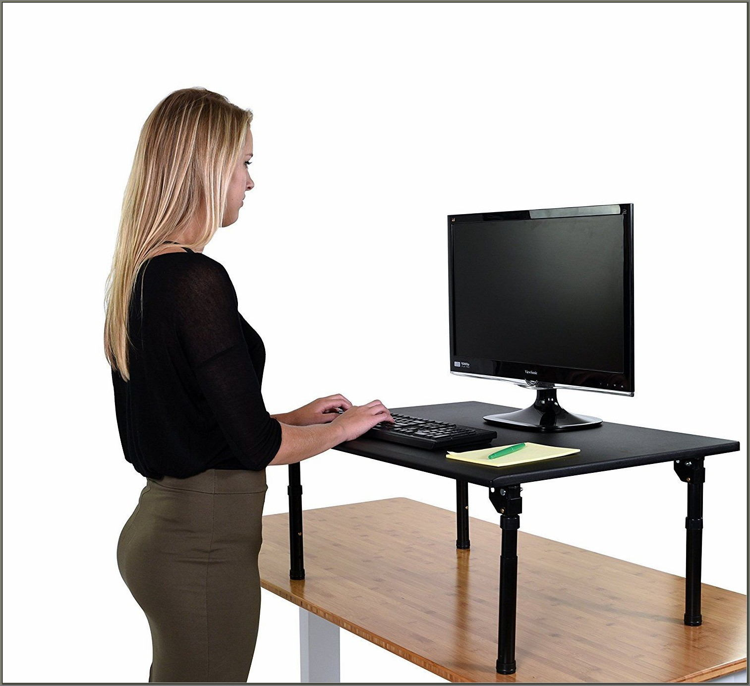 Convert Your Desk To A Standing Desk