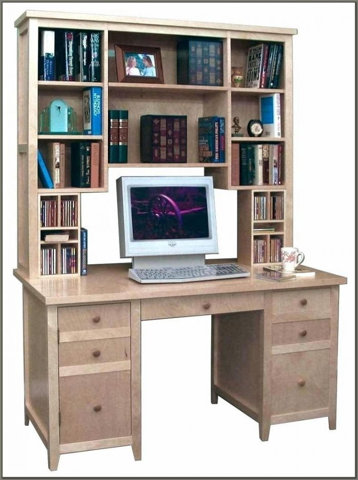Corner Computer Desk With Hutch And Drawers