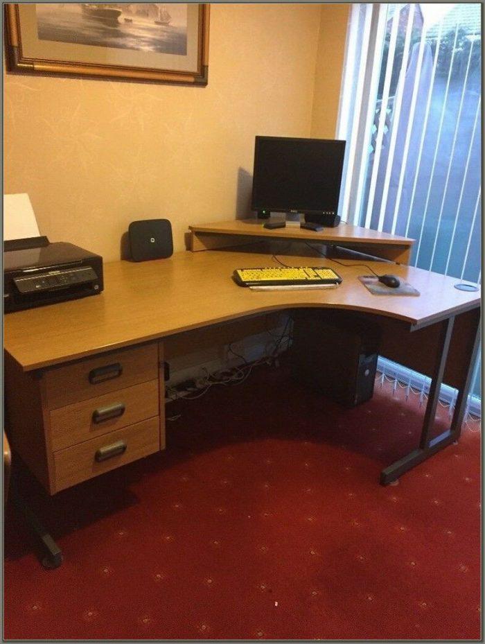 Corner Desk Monitor Stand