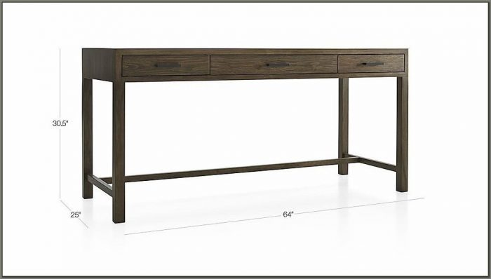 Crate And Barrel Writing Desk