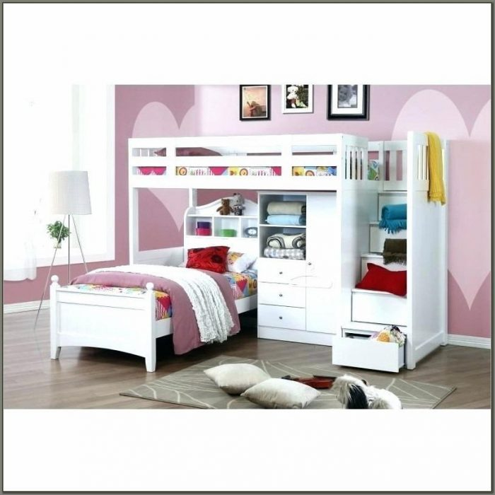 Cute Bunk Beds With Desk For Girls