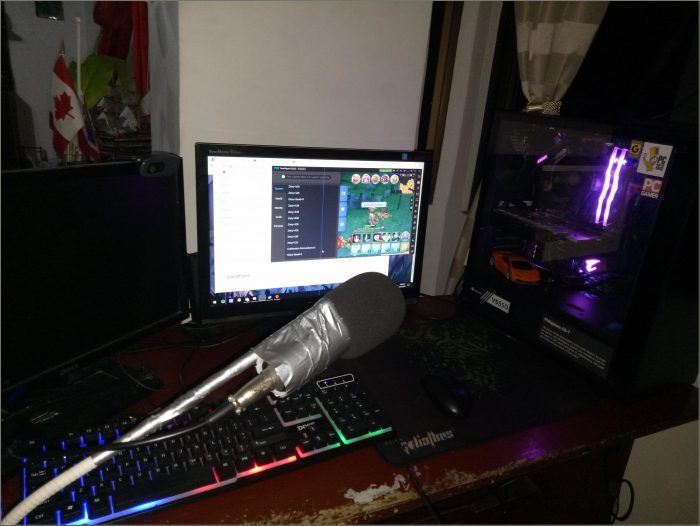 Desk Mic For Gaming Reddit