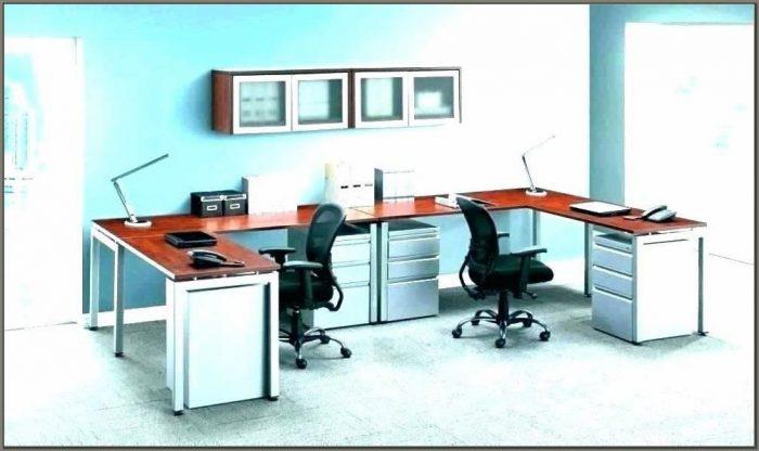 Double Desks Home Office