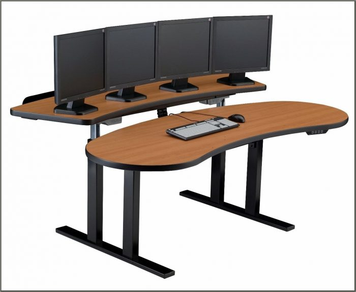 Ergonomic Adjustable Computer Desk