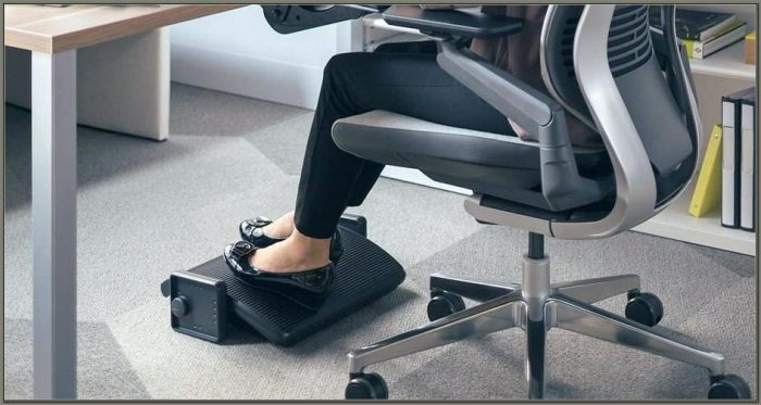 Footrest For Desk Staples