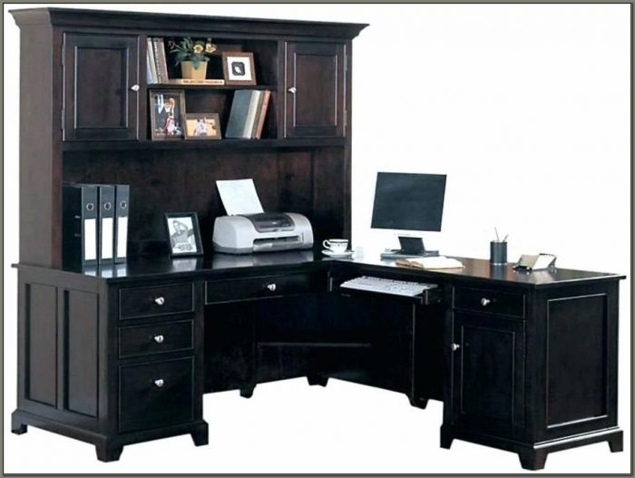 Home Office Computer Desks With Hutch