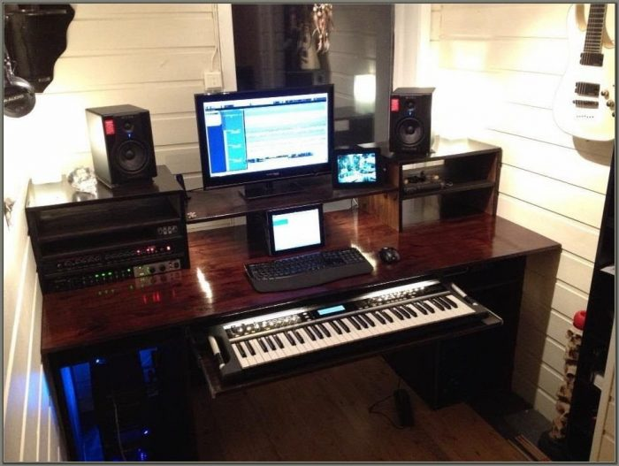 Home Studio Workstation Desk