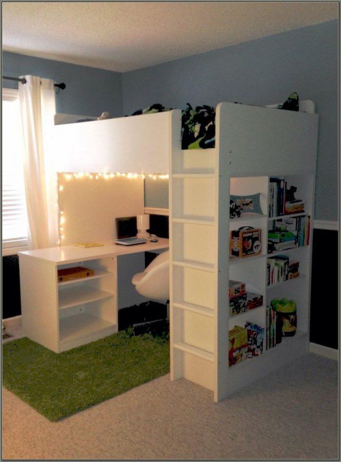Ikea Bed Desk Combo