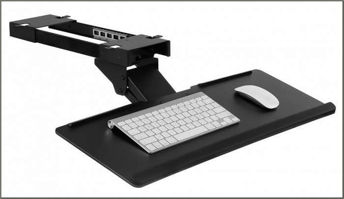 Keyboard And Mouse Tray For Desk