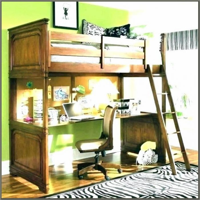 Kids Bunk Beds With Desk Underneath