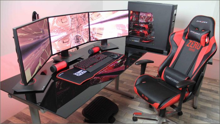 L Shaped Computer Desk Gaming