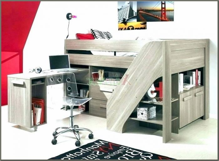 Loft Bunk Beds With Desk And Drawers