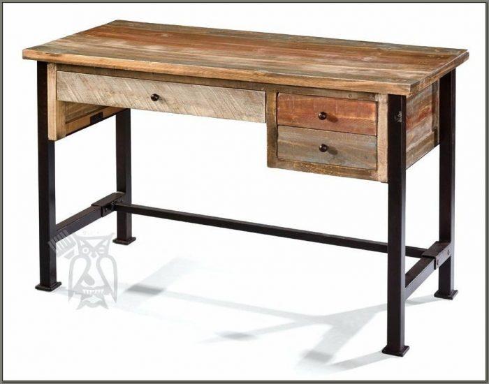 Metal And Wood Desks