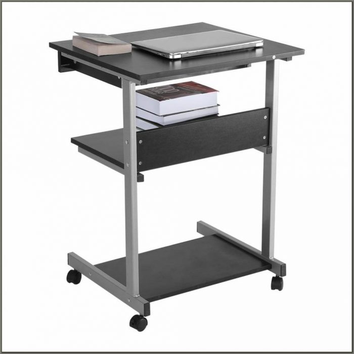Mobile Laptop Desk Cart