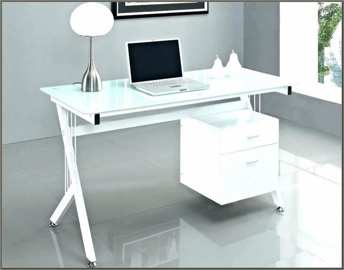 Modern Glass Desks For Home Office