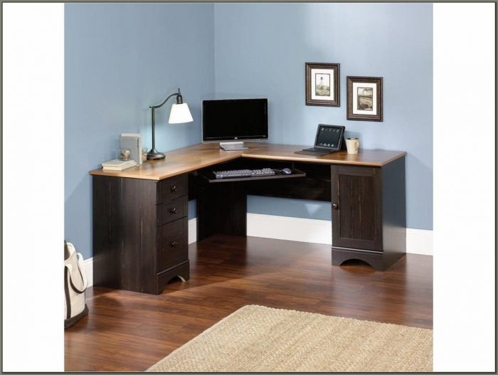 Oak Corner Computer Desks For Home