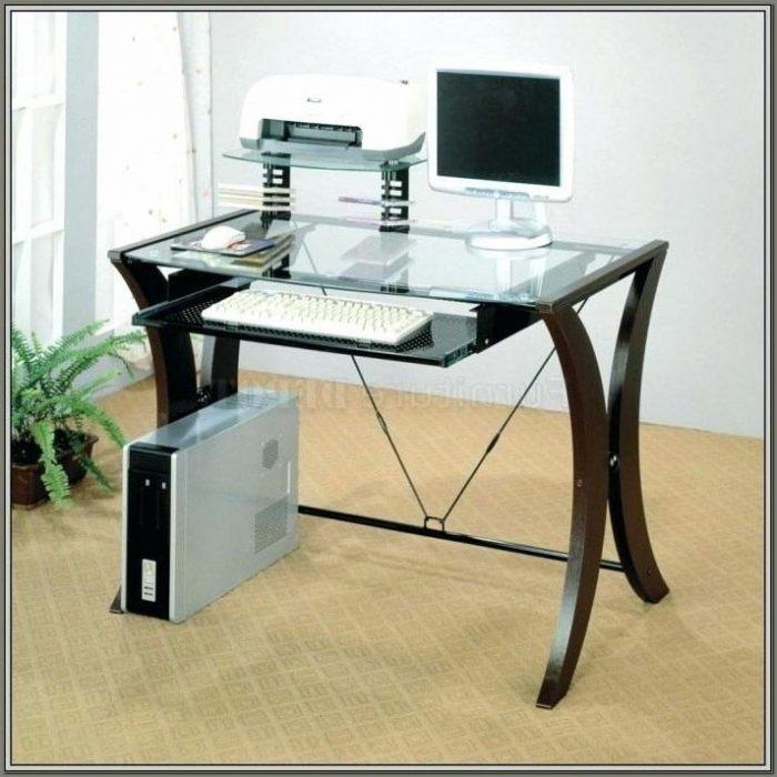 Office Depot Glass Computer Desk