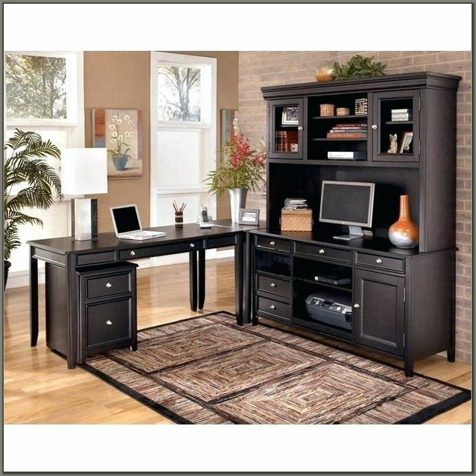 Office Desk And Credenza For Sale