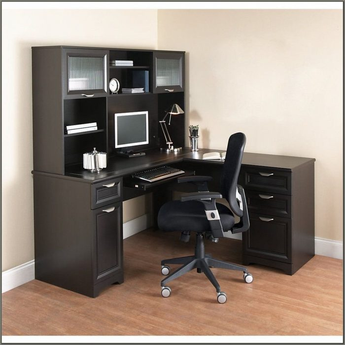Officemax Writing Desk With Hutch