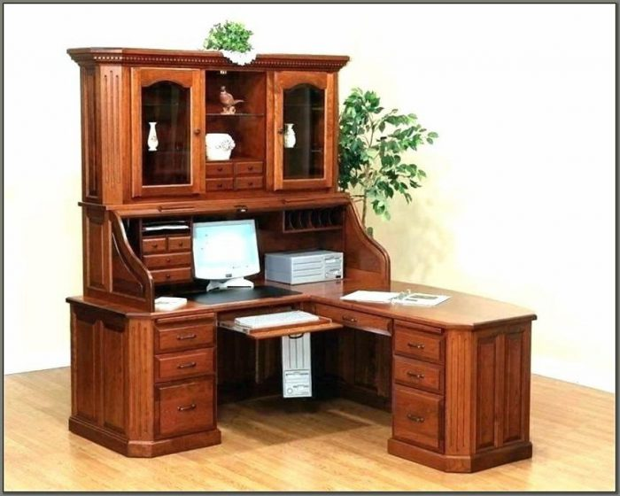Small Computer Desk With Hutch And Drawers