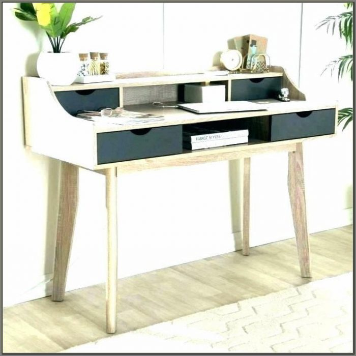 Small Desk With Drawers On Both Sides