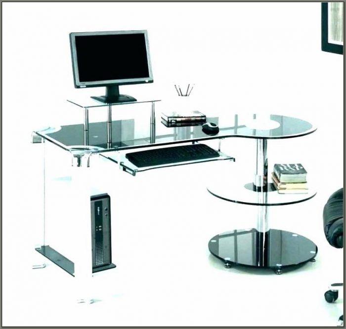 Staples Glass Computer Desk