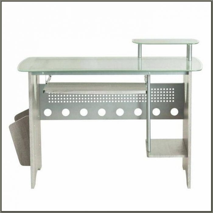 Staples Glass Top Desk