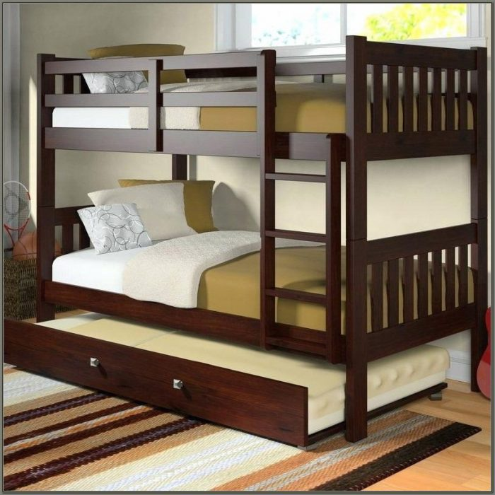 Twin Bunk Beds With Desk And Drawers