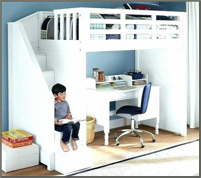 Twin Bunk Beds With Desks